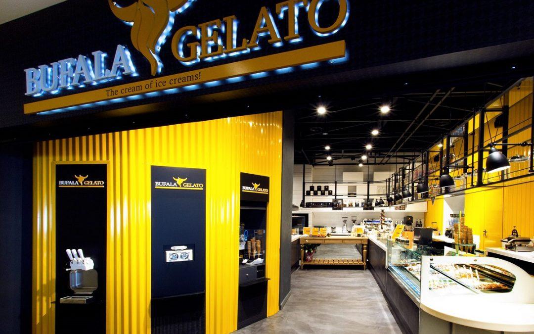 Η φρέσκια και καινοτόμα gelateria Bufala Gelato